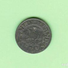 Moedas antigas de África: HOLANDA. 25 CENT 1942. ZINC. KM#174. Lote 208012640