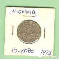 Monedas antiguas de África: NIGERIA. 10 KOBO 1973. CUPRONÍQUEL. KM#10.1. Lote 209058915