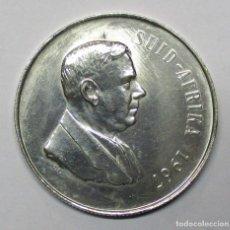 Monedas antiguas de África: SUDAFRICA 1967. 1 RAND. MONEDA EN PLATA. DOCTOR VERWOERD LOTE 3134. Lote 209139665