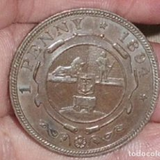 Monedas antiguas de África: MONEDA DE SUDAFRICA 1 PENNY PAUL KRUGER 1894- RARA-. Lote 209967835