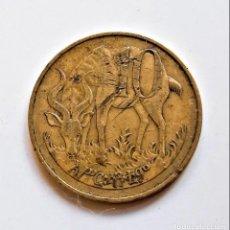 Monedas antiguas de África: ETHIOPIA 10 CENTIMOS ND 1969. Lote 210419897