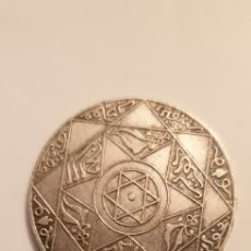Monedas antiguas de África: 5 DIRHAM DE PLATA DE 1898. MARRUECOS. Lote 203997685