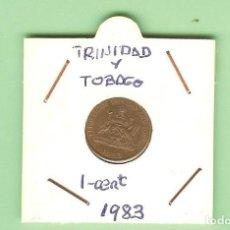 Monedas antiguas de África: TRINIDAD Y TOBAGO 1 CENT 1983. BRONCE. KM#29. Lote 210958075
