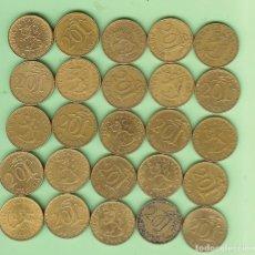 Monedas antiguas de África: FINLANDIA. 25 MONEDAS DE 20 PENNIA, 25 FECHAS DIFERENTES. Lote 211439354