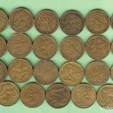 Monedas antiguas de África: CHECOSLOVAQUIA. 23 MONEDAS DE 1 CORONA, 23 FECHAS, 2 MODELOS. Lote 211440199