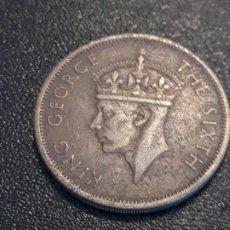 Monedas antiguas de África: RHODESIA 1/2 CORONA 1952. Lote 211593644