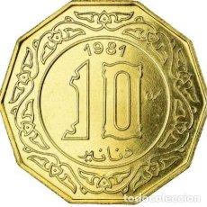 Monedas antiguas de África: ALGERI - ESSAI - COLONIAS FRANCESAS, 10 DINARS 1981. Lote 211851038