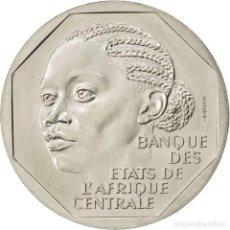 Monedas antiguas de África: TCHAD - ESSAI - COLONIAS FRANCESAS, 500 FRANCOS 1985 TCHAD. Lote 211853376