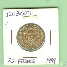 Monedas antiguas de África: DJIBOUTI. 20 FRANCS 1999. COBRE, ALUMINIO Y NÍQUEL. KM#24. Lote 211885358