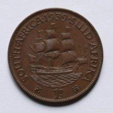 Monedas antiguas de África: WWII PENNY 1939 DE LA UNION SUDAFRICANA. Lote 211901130