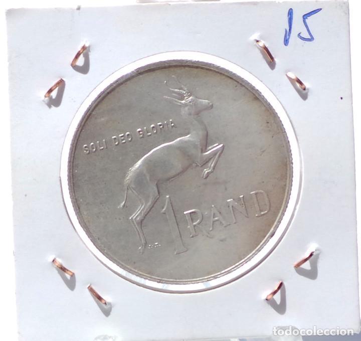 Monedas antiguas de África: SUDAFRICA.- 1 RAND - 1967. - Foto 2 - 212173301
