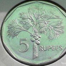 Monedas antiguas de África: SEYCHELLES 5 RUPIAS 2010. Lote 212354441