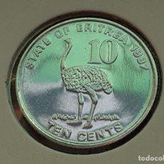 Monedas antiguas de África: ERITREA 10 CENTAVOS/CENTS 1997 (SIN CIRCULAR). Lote 212731147