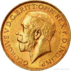 Monedas antiguas de África: MONEDA, SUDÁFRICA, GEORGE V, SOVEREIGN, 1927, EBC, ORO, KM:21. Lote 214369932