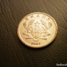 Moedas antigas de África: GHANA 20 PESEWAS 2007. Lote 215064551