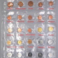 Monedas antiguas de África: ¡CONJUNTO ORIGINAL 30 MONEDAS DE 30 PAÍSES DIFERENTES HOJA GRATIS! REAL ASIA ÁFRICA AMÉRICA EUROPA. Lote 216653260