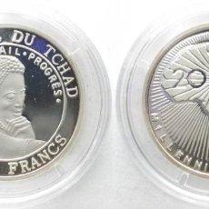 Monedas antiguas de África: CHAD 500 FRANCOS 2000. Lote 217538836