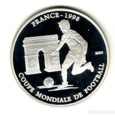 Monedas antiguas de África: CHAD 1000 FRANCOS 2002. Lote 217539860
