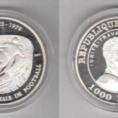 Monedas antiguas de África: CHAD 1000 FRANCOS 2002. Lote 217540382