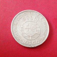Monedas antiguas de África: 10 ESCUDOS DE SANTO TOMÉ Y PRÍNCIPE 1939. PLATA. Lote 217592436