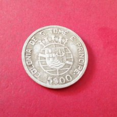 Monedas antiguas de África: 5 ESCUDOS DE SANTO TOMÉ Y PRÍNCIPE 1939. PLATA. Lote 217592506
