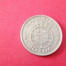 Monedas antiguas de África: 10 ESCUDOS DE ANGOLA 1970. Lote 217780168