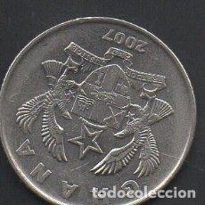 Monedas antiguas de África: GHANA, 50 PESEWAS 2015, AÑO ESCASO, BC. Lote 217871955