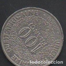 Monedas antiguas de África: ESTADOS DE ÁFRICA DEL OESTE, 100 FRANCOS 2009, BC. Lote 217872116