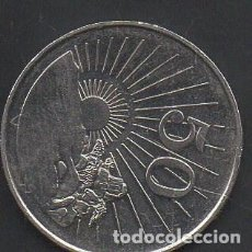 Monedas antiguas de África: ZIMBABWE, 50 CENTAVOS 1997, BC. Lote 217872150