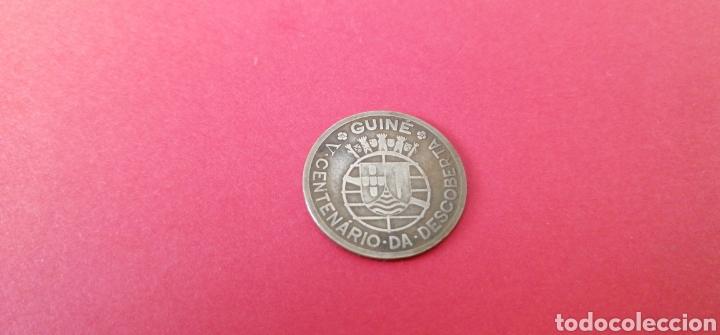 50 CENTAVOS DE GUINEA 1946. CONMEMORATIVA (Numismática - Extranjeras - África)