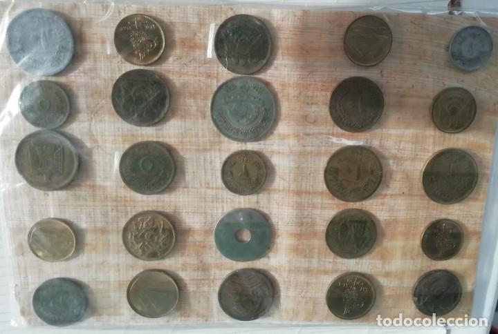MONEDAS DE EGIPTO FINAL DE LOS AÑOS 80 (Numismática - Extranjeras - África)
