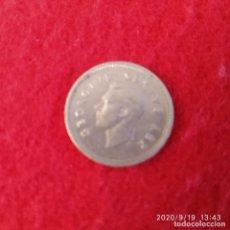 Monedas antiguas de África: MONEDA DE PLATA DE SUD ÁFRICA, GEORGE VI, DE 3 PENCE DE 1950, BUEN EJEMPLAR , VER FOTOS.. Lote 218201487