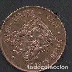 Monedas antiguas de África: SUDÁFRICA, 2 CENTAVOS 1977, ESCASA, BC. Lote 218270525
