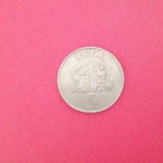 Monedas antiguas de África: 5 EKUELE DE GUINEA 1975. Lote 219269455