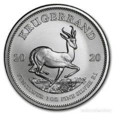 Monedas antiguas de África: SUDAFRICA 2020 TUBO DE 25 ONZAS DE PLATA. Lote 219631180
