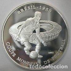 Monedas antiguas de África: CHAD 1000 FRANCOS 2001. Lote 219758175