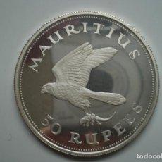 Moedas antigas de África: 50 (RUPIAS) RUPEES 1975 (ISLAS MAURICIO) MAUTIUS 35,53 GR ( AG 925)PROOF SC. Lote 220677335