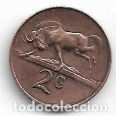 Monedas antiguas de África: SUDAFRICA,2 CENTS 1967.. Lote 221162135