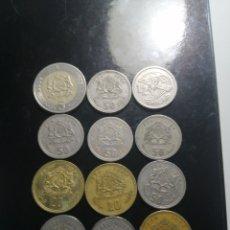 Monedas antiguas de África: LOTE DE MARRUECOS 12 MONEDAS. Lote 221732306