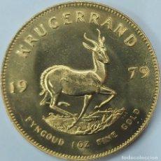 Monedas antiguas de África: MONEDA KRUGERRAND DE ORO 22 K 1 OZ 1979 SUDÁFRICA. Lote 221910528