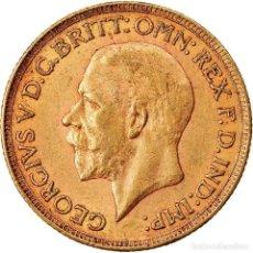 Monedas antiguas de África: MONEDA, SUDÁFRICA, GEORGE V, SOVEREIGN, 1929, MBC, ORO, KM:A22. Lote 221912193