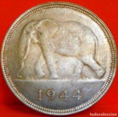 Monedas antiguas de África: CONGO BELGA, 50 FRANCOS, 1944. PLATA. MUY BUENA CALIDAD. (01). Lote 221927278