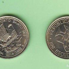 Monedas antiguas de África: PORTUGAL. 100 ESCUDOS 1989. MADEIRA. CUPRONÍQUEL. KM#647. Lote 222252801