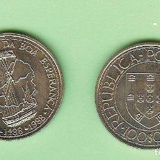 Monedas antiguas de África: PORTUGAL. 100 ESCUDOS 1988. BARTOLOMEU DIAS CUPRONÍQUEL. KM#642. Lote 222263418