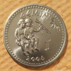 Monedas antiguas de África: SOMALILAND. 2006. GEMINIS. 10 CHELINES ACERO INOXIDABLE.. Lote 222264803