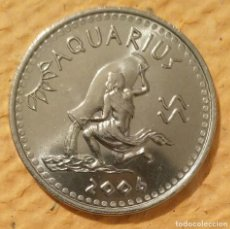 Monedas antiguas de África: SOMALILAND. 2006. ACUARIO. 10 CHELINES ACERO INOXIDABLE.. Lote 222265176