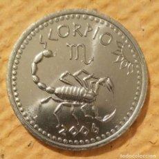 Monedas antiguas de África: SOMALILAND. 2006. ESCORPIO. 10 CHELINES ACERO INOXIDABLE.. Lote 222265488