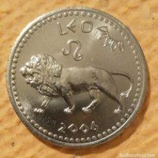 Monedas antiguas de África: SOMALILAND. 2006. LEO. 10 CHELINES ACERO INOXIDABLE.. Lote 222265612
