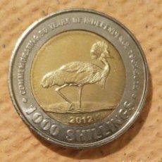 Monedas antiguas de África: UGANDA. 2012. 1000 CHELINES. BIMETÁLICA.. Lote 222281747