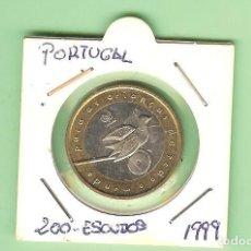 Monedas antiguas de África: PORTUGAL. 200 ESCUDOS 1999. UNICEF. BIMETÁLICA KM#720. Lote 222291723